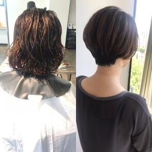 クセ毛 髪質 活かした カット 名古屋