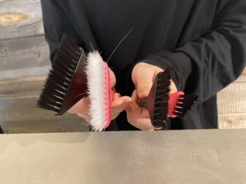 バレイヤージュ 刷毛